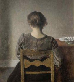 Vilhelm Hammershøi: Rest, 1905