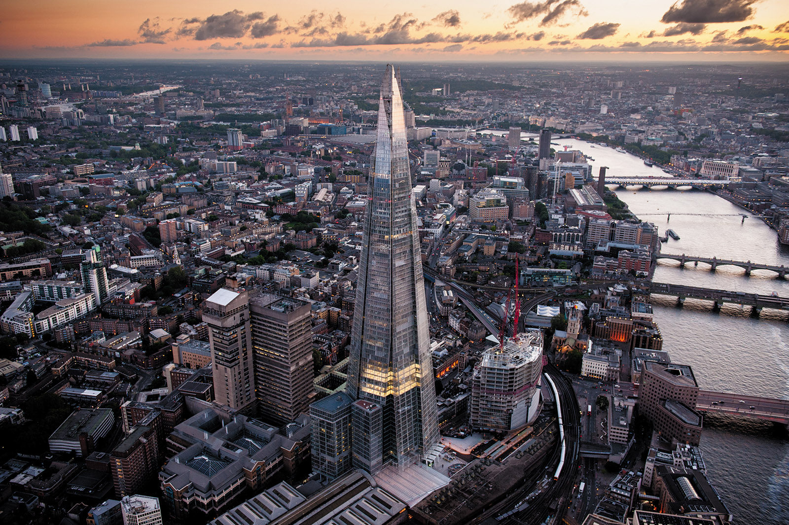 The Shard, London's tallest skyscraper, June 2012