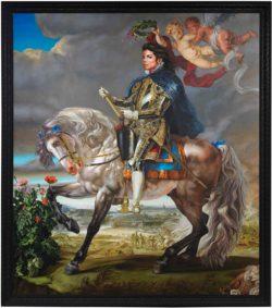 Kehinde Wiley: Equestrian Portrait of King Philip II, 2009