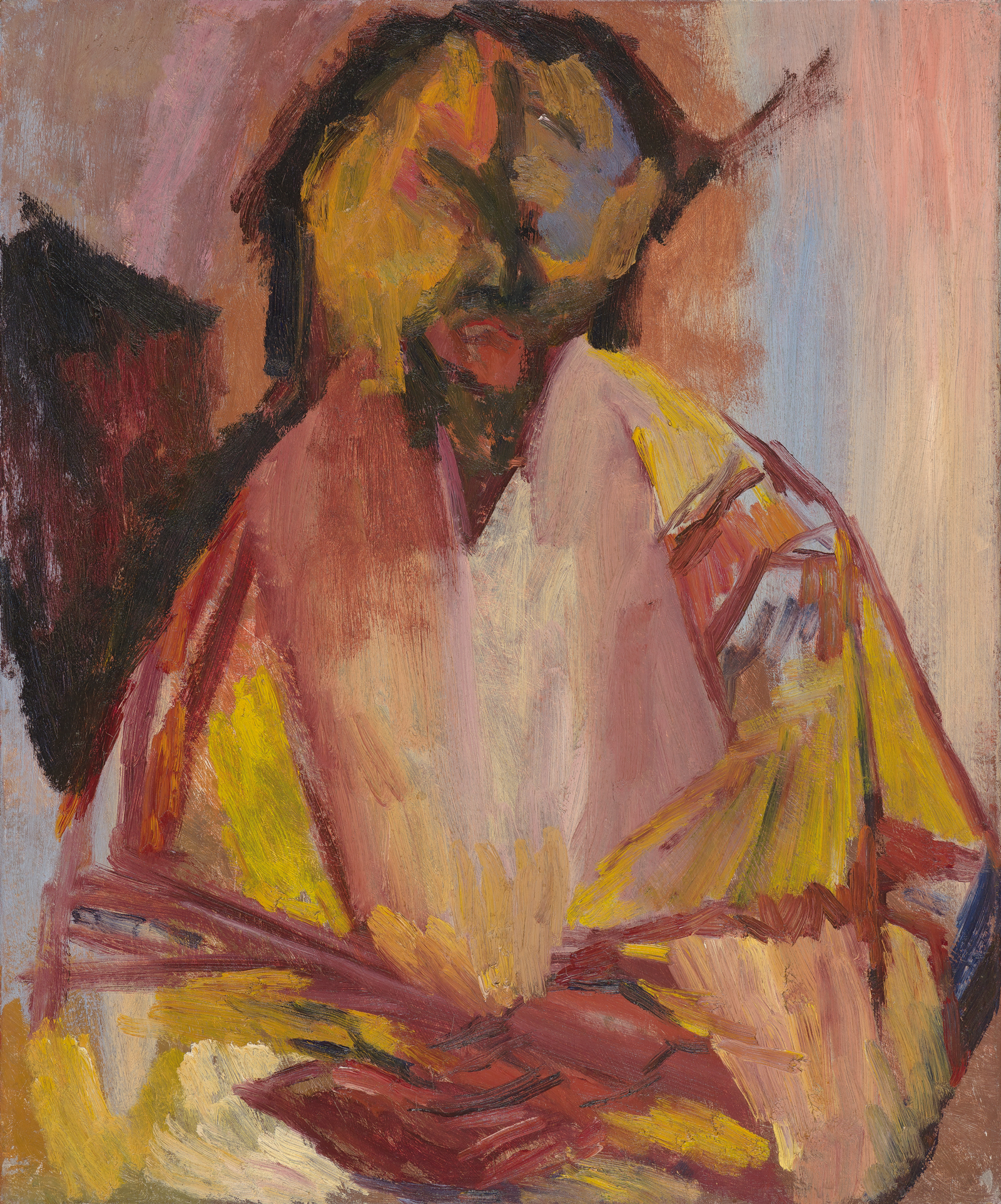 bomberg-last-self-portrait