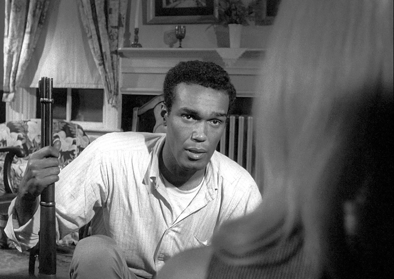 dbb73215a Continental Distributing/Walter Reade Organization/Image Ten. Duane Jones  as Ben in Night of the Living Dead ...