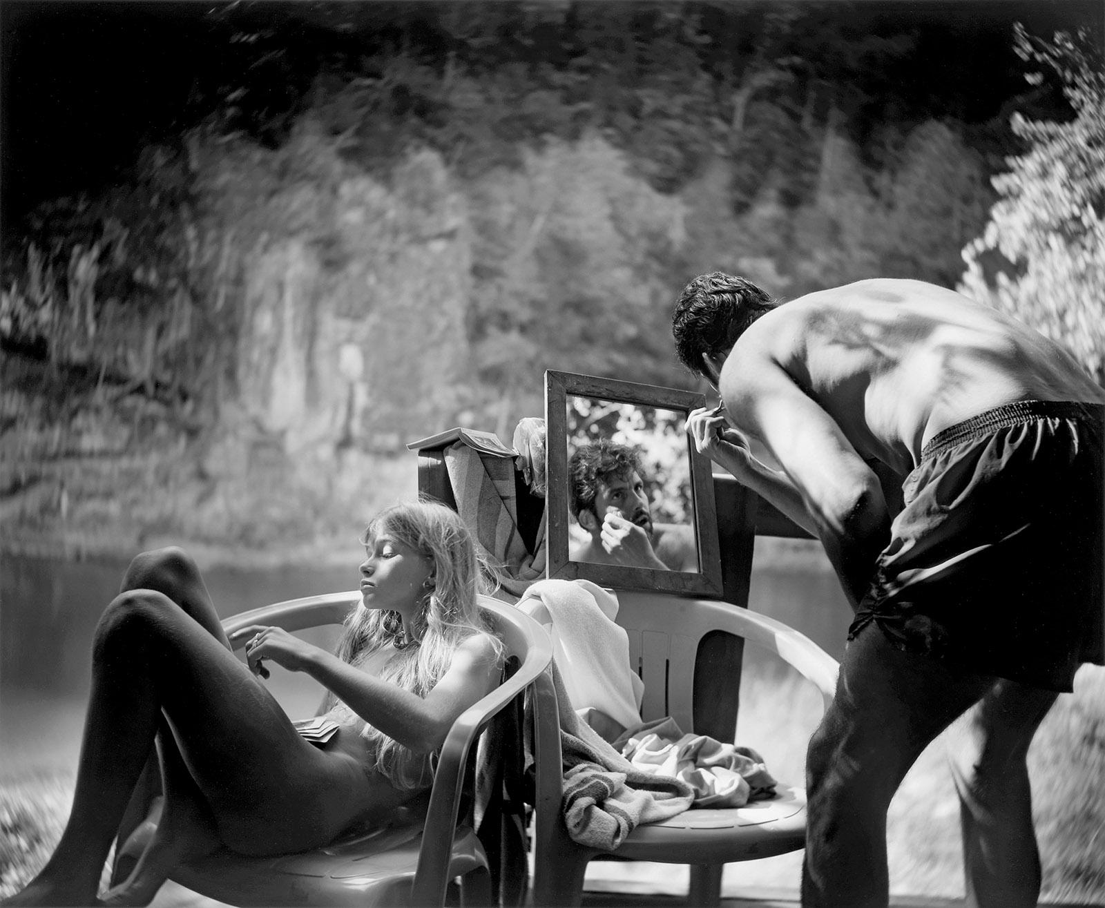Sally Mann: Larry Shaving, 1991