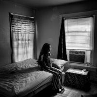 A transgender woman at home, Birmingham, Alabama, 2017