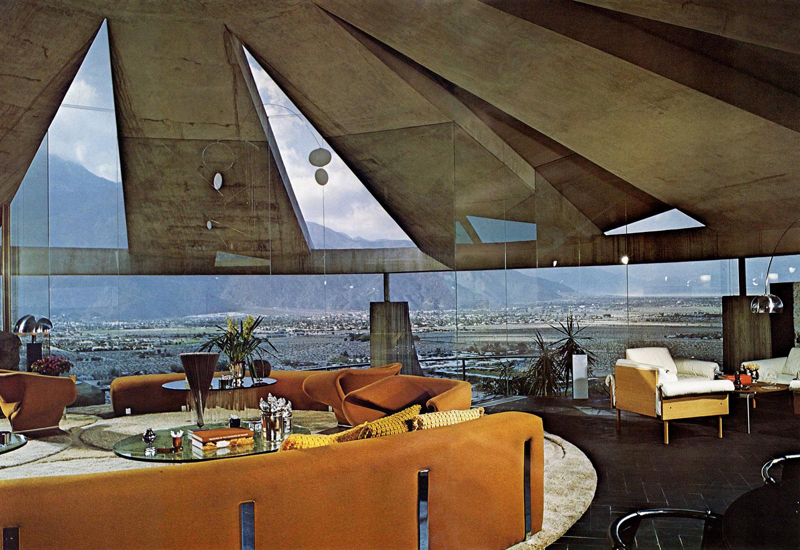 Arthur Elrod house, Palm Springs, California