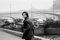 Patrick Modiano on the Quai Conti, Paris, 1969