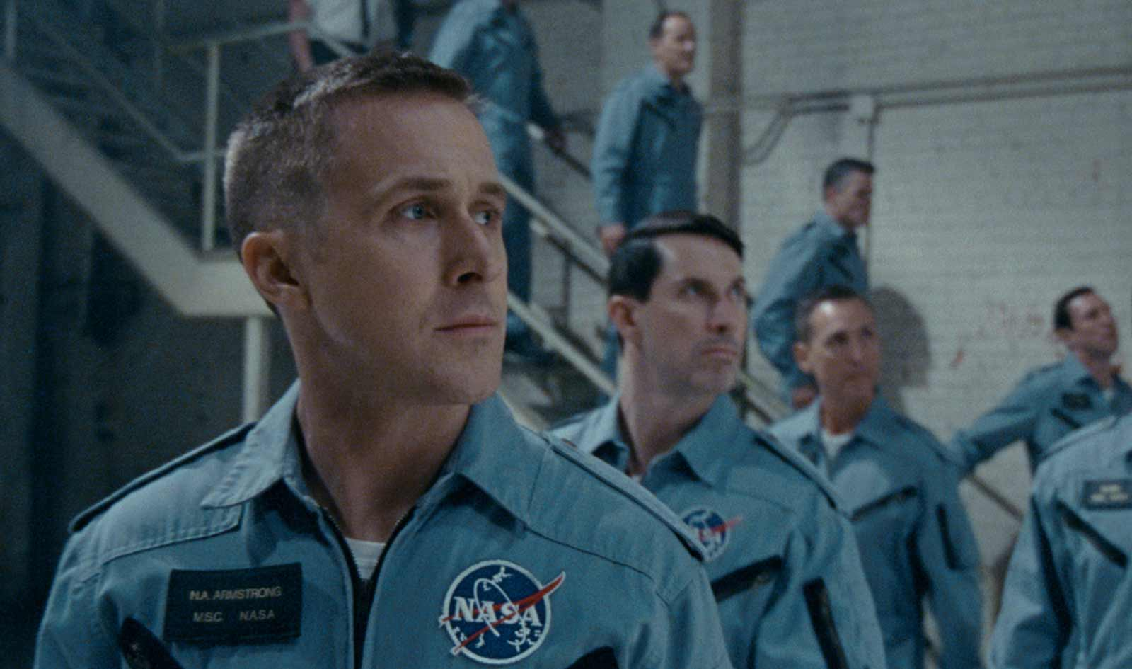 Ryan Gosling as Neil Armstrong in Damien Chazelle's First Man, 2018