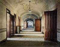 An abandoned ward at Kankakee State Hospital, Illinois; photograph by Christopher Payne from his book Asylum: Inside the Closed World of State Mental Hospitals, 2009