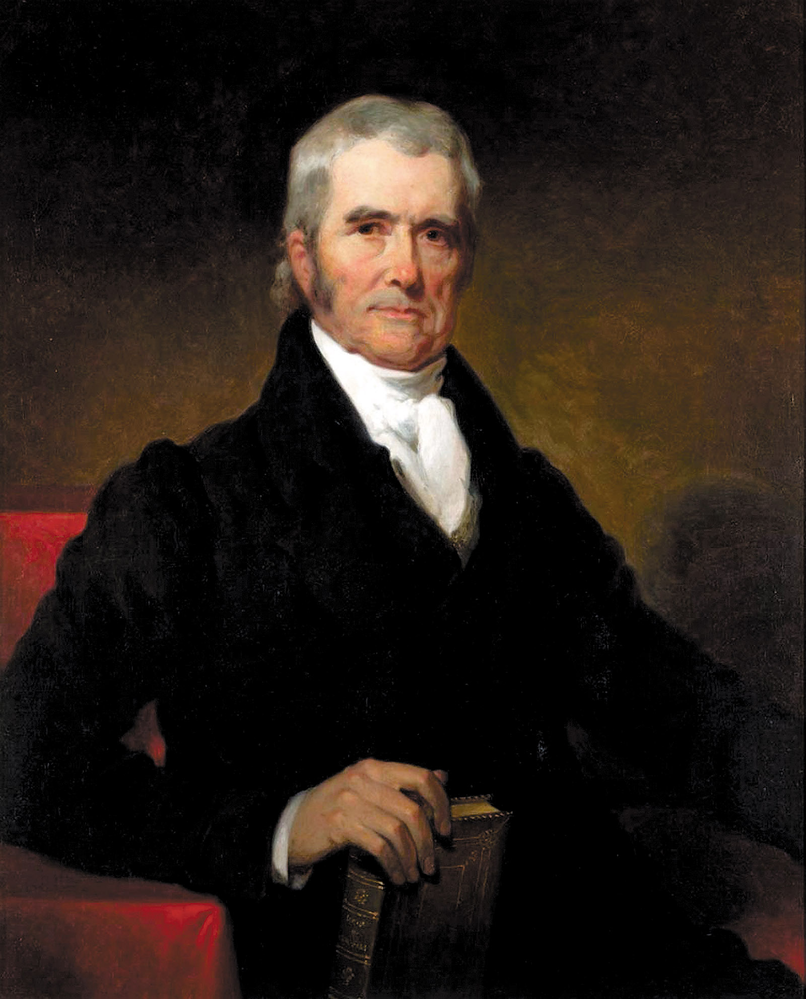 Supreme Court Chief Justice John Marshall; painting by Henry Inman, 1832