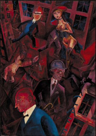 George Grosz: Metropolis, 1917