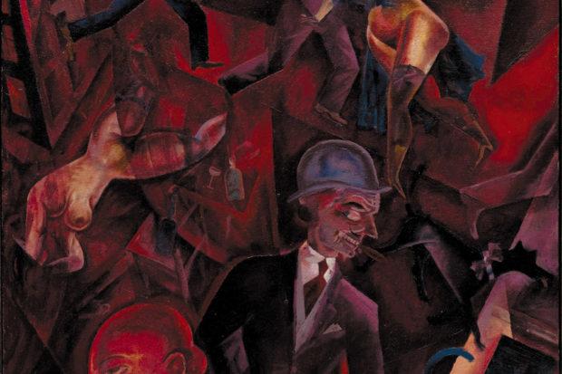 George Grosz: <i>Metropolis</i>, 1917