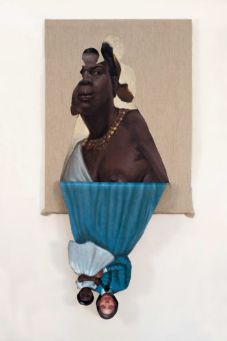 Titus Kaphar: Her Mother's Mother's Mother, 2014; from the exhibition 'UnSeen: Our Past in a New Light,' which includes work by Kaphar and Ken Gonzales-Day.It is on view at the Smithsonian's National Portrait Gallery, Washington, D.C., through January 6, 2019.