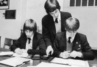 Secondary school pupils, Kettering, England, 1976