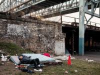 A man who has just taken heroin, Philadelphia, April 2018