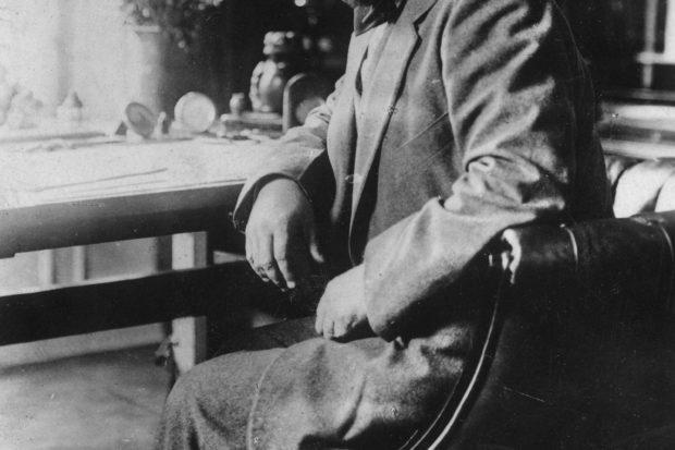 Claude Debussy, circa 1910