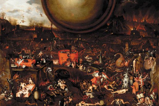 Herri met de Bles: <i>Hell</i>, mid-sixteenth century