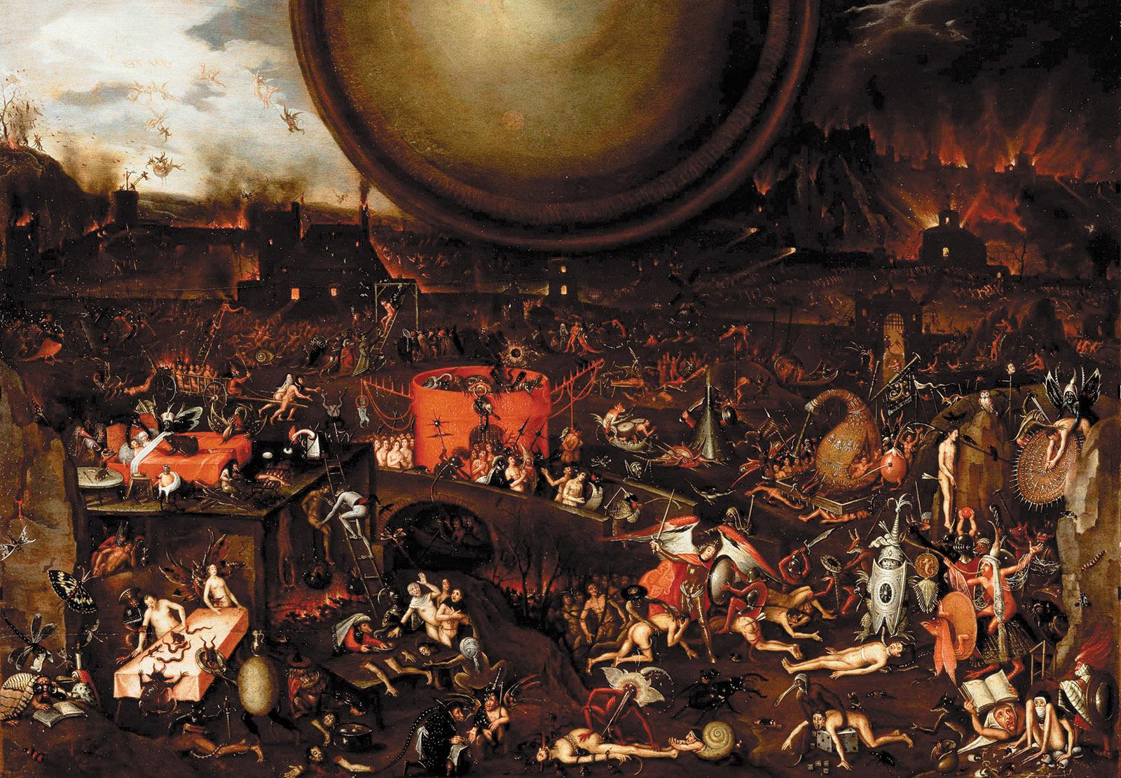 Herri met de Bles: Hell, mid-sixteenth century