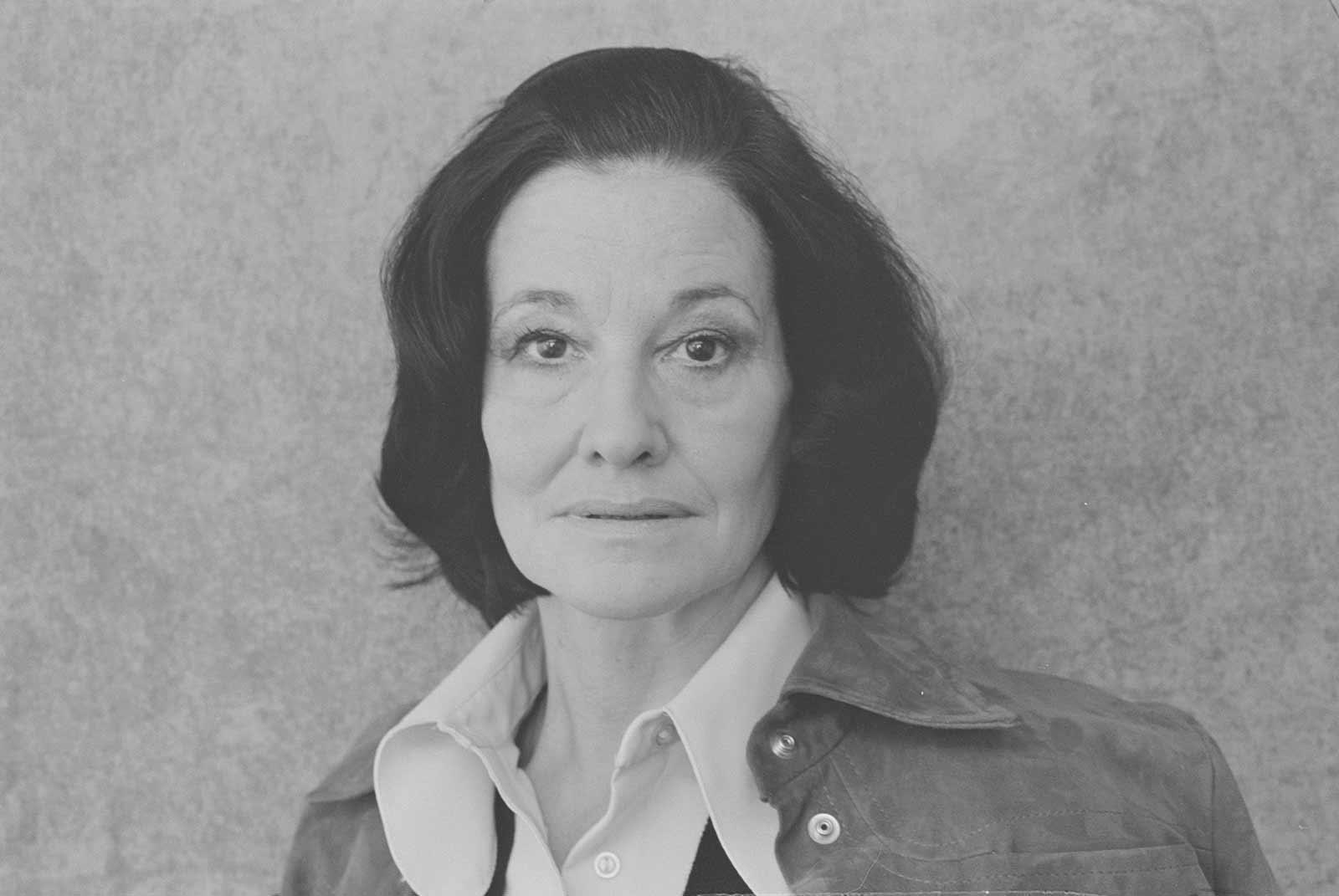 Writer Penelope Mortimer, 1975