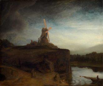 Rembrandt van Rijn: The Mill, 1645–1648