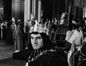 Laurence Olivier in Richard III, 1956