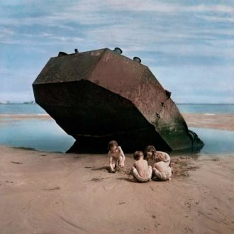 Omaha Beach, Normandy, France, 1947