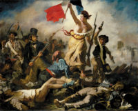Eugène Delacroix: Liberty Leading the People, 1830