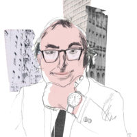 Gary Shteyngart; illustration by Joanna Neborsky