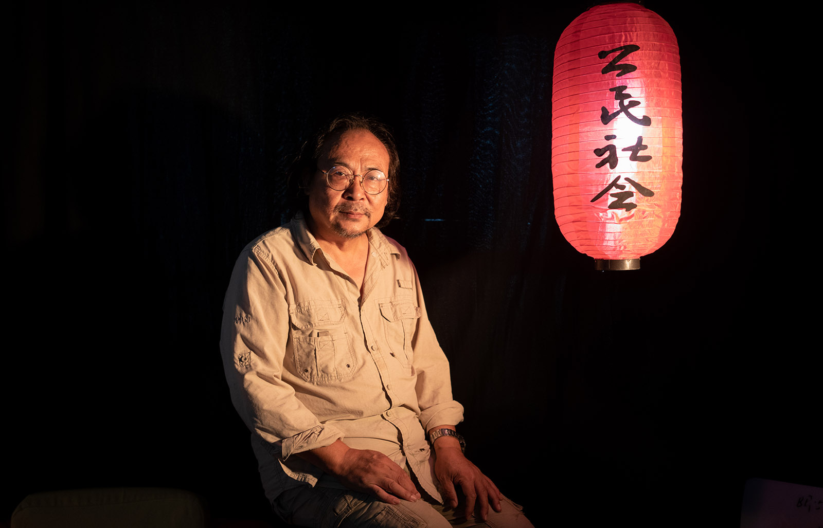 """Zhang Shihe, often known—as China's first citizen journalist—by his web name """"Tiger Temple"""""""