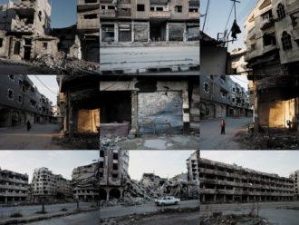 Homs, Syria, February 2016; photographs by Jerome Sessini