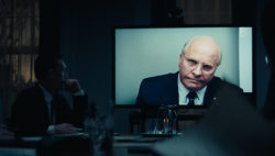 Christian Bale as Dick Cheney in Adam McKay's Vice
