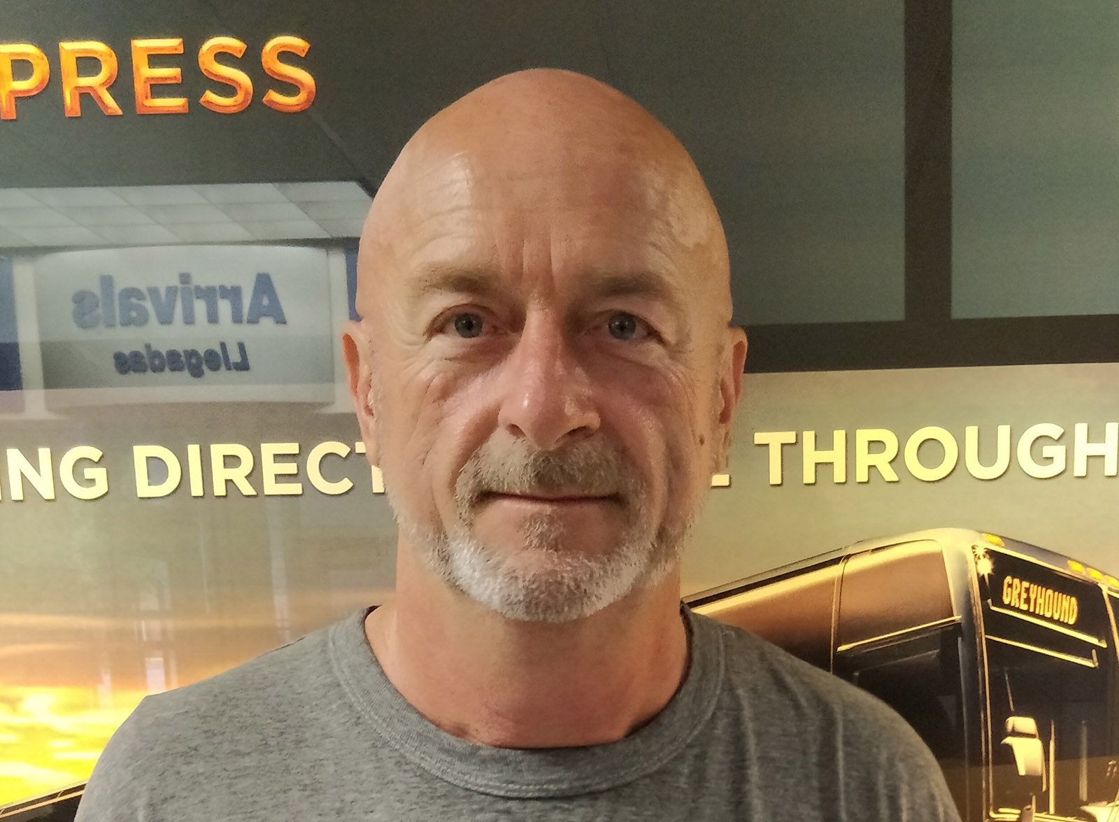 Daniel DePew, photographed by a friend soon after his release from prison, August 2018