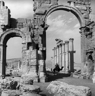 Monumental Arch, Palmyra, Syria, 2003