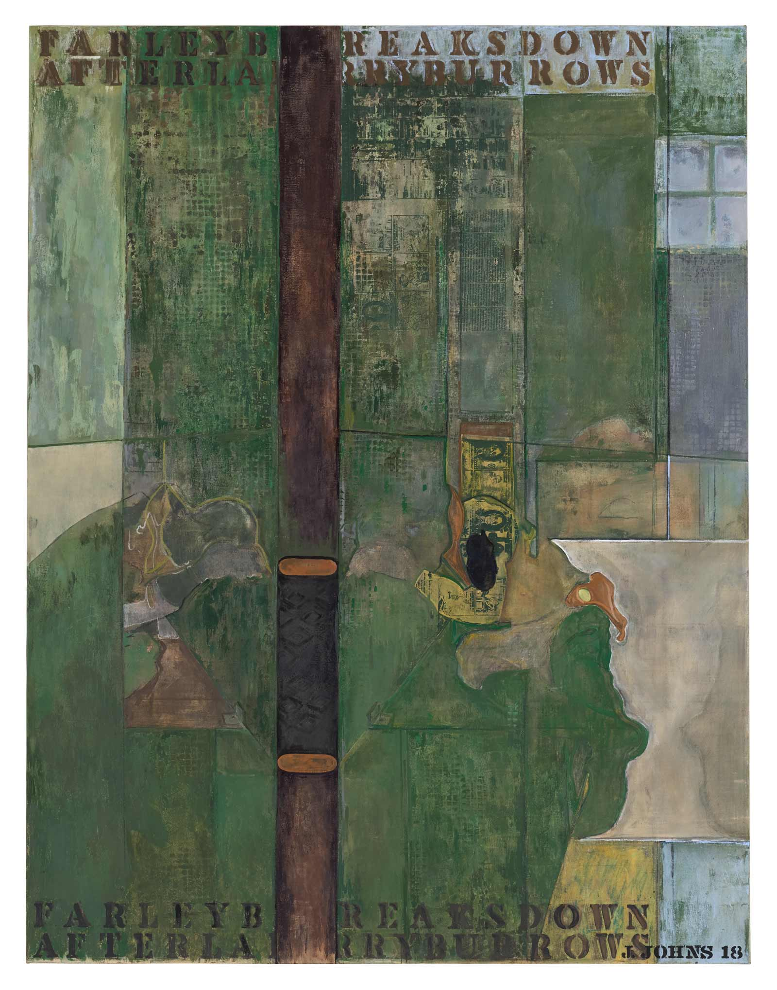 Jasper Johns's Visions in Green | by Deborah Solomon | NYR Daily | The New York Review of Books
