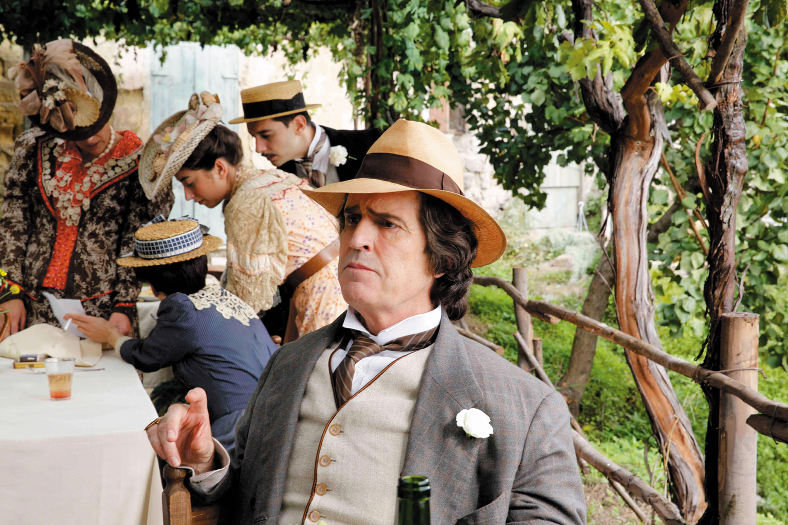 Rupert Everett as Oscar Wilde in The Happy Prince