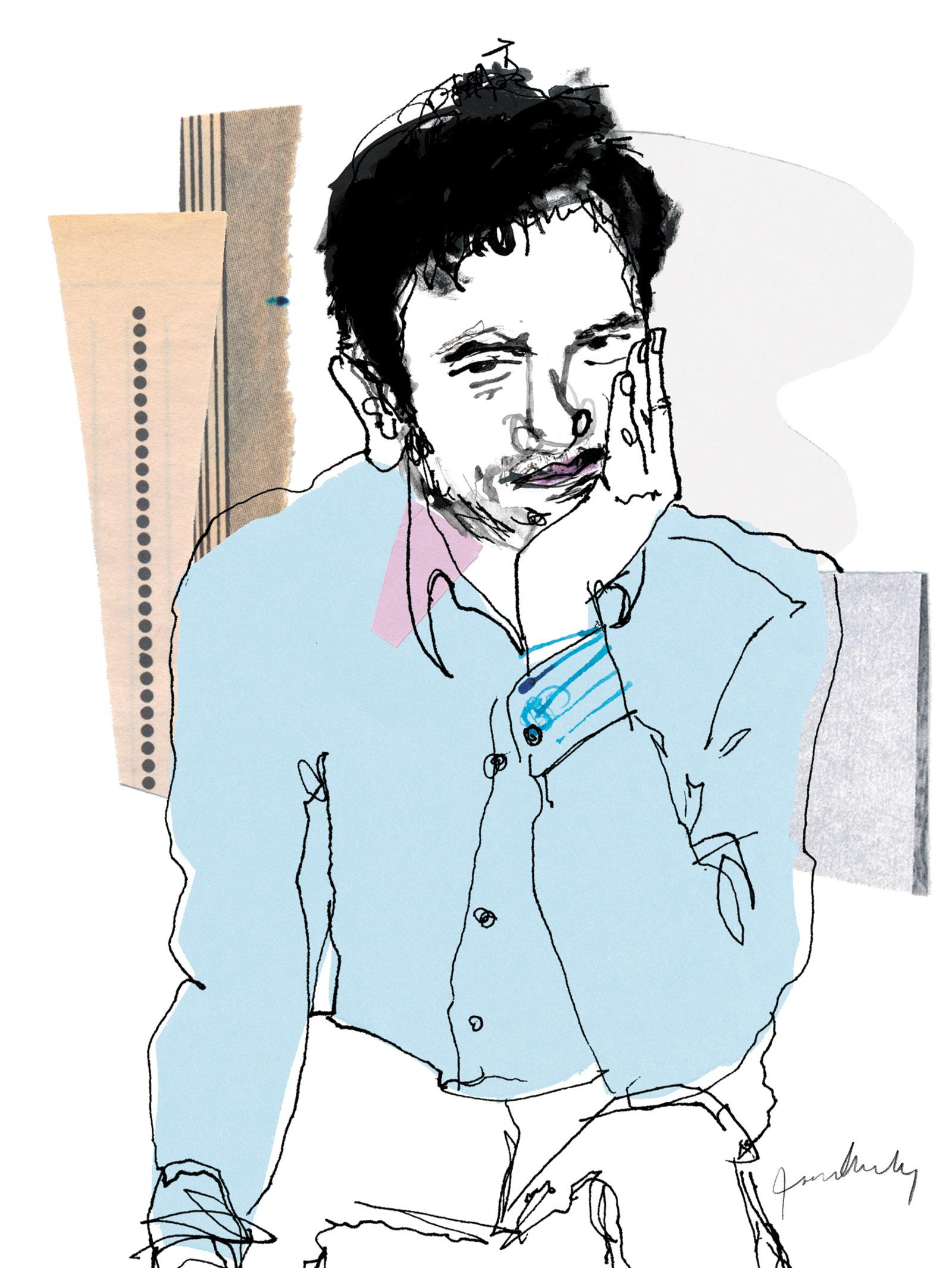 Alejandro Zambra; illustration by Joanna Neborsky