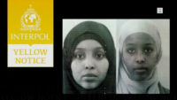 The Interpol notice issued in October 2013 after the Juma sisters left Norway for Syria