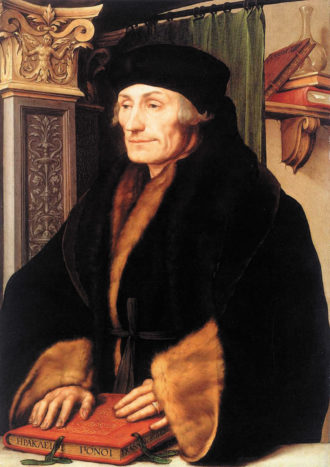 Hans Holbein the Younger: Portrait of Erasmus of Rotterdam, circa 1523