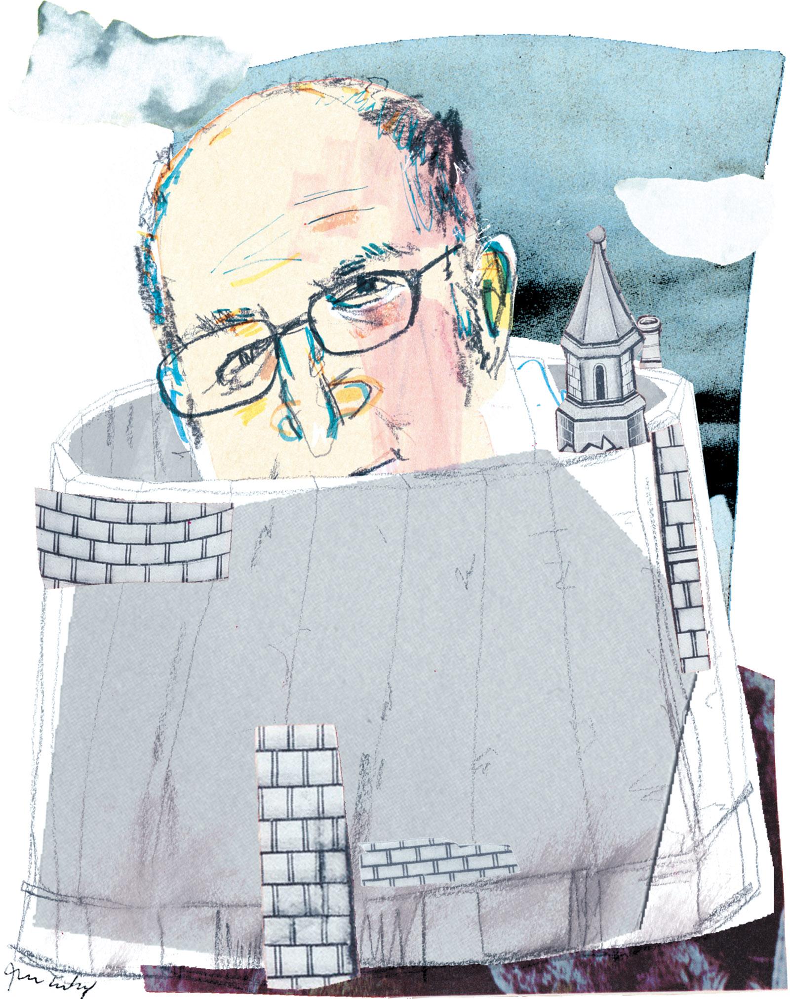 John Lanchester; illustration by Joanna Neborsky