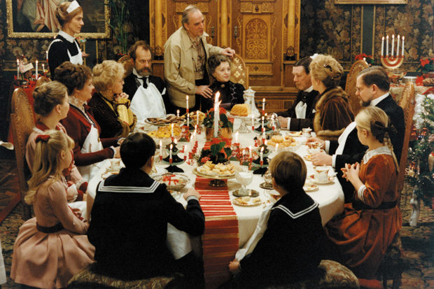 Ingmar Bergman on the set of <i>Fanny and Alexander</i>, from the 1984 documentary <i>The Making of Fanny and Alexander</i>