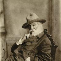 Walt Whitman, 1880