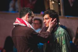 Salar (Ben Turner) and Norullah (Khaled Zahabi) in The Jungle