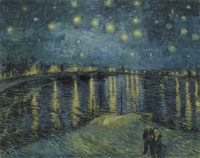Vincent Van Gogh, Starry Night, 1888