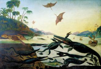 Robert Farren: Life in the Jurassic Sea 'Duria Antiquior' (An Earlier Dorset), circa 1850