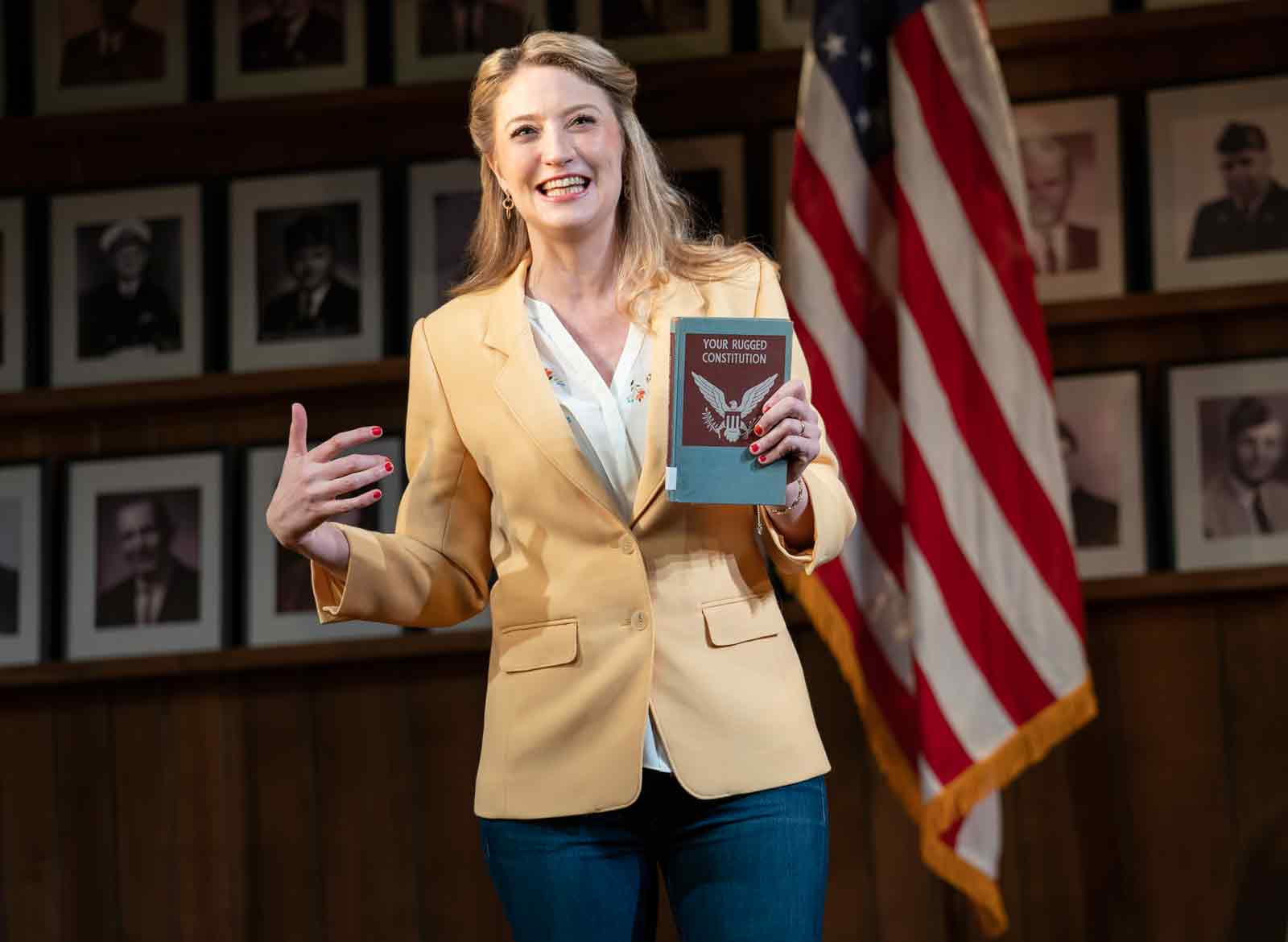 Heidi Schreck in Schreck's What the Constitution Means to Me, 2019