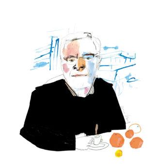John Koethe; illustration by Joanna Neborsky
