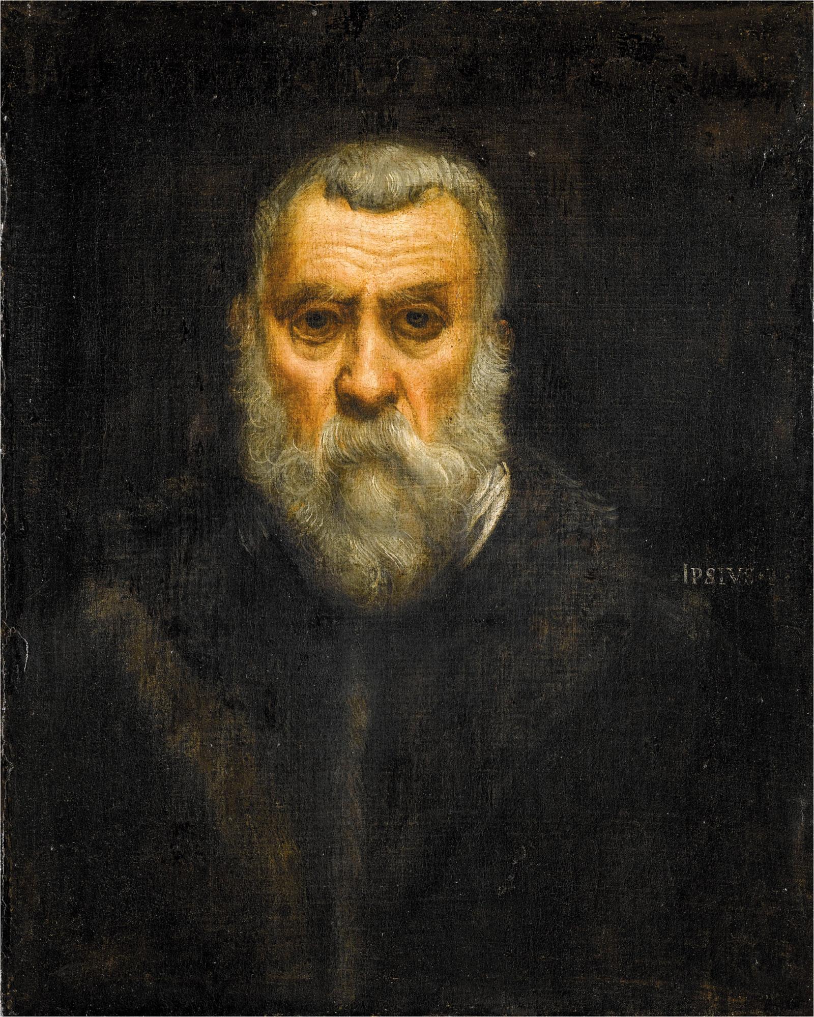 Self-Portrait by Jacopo Tintoretto