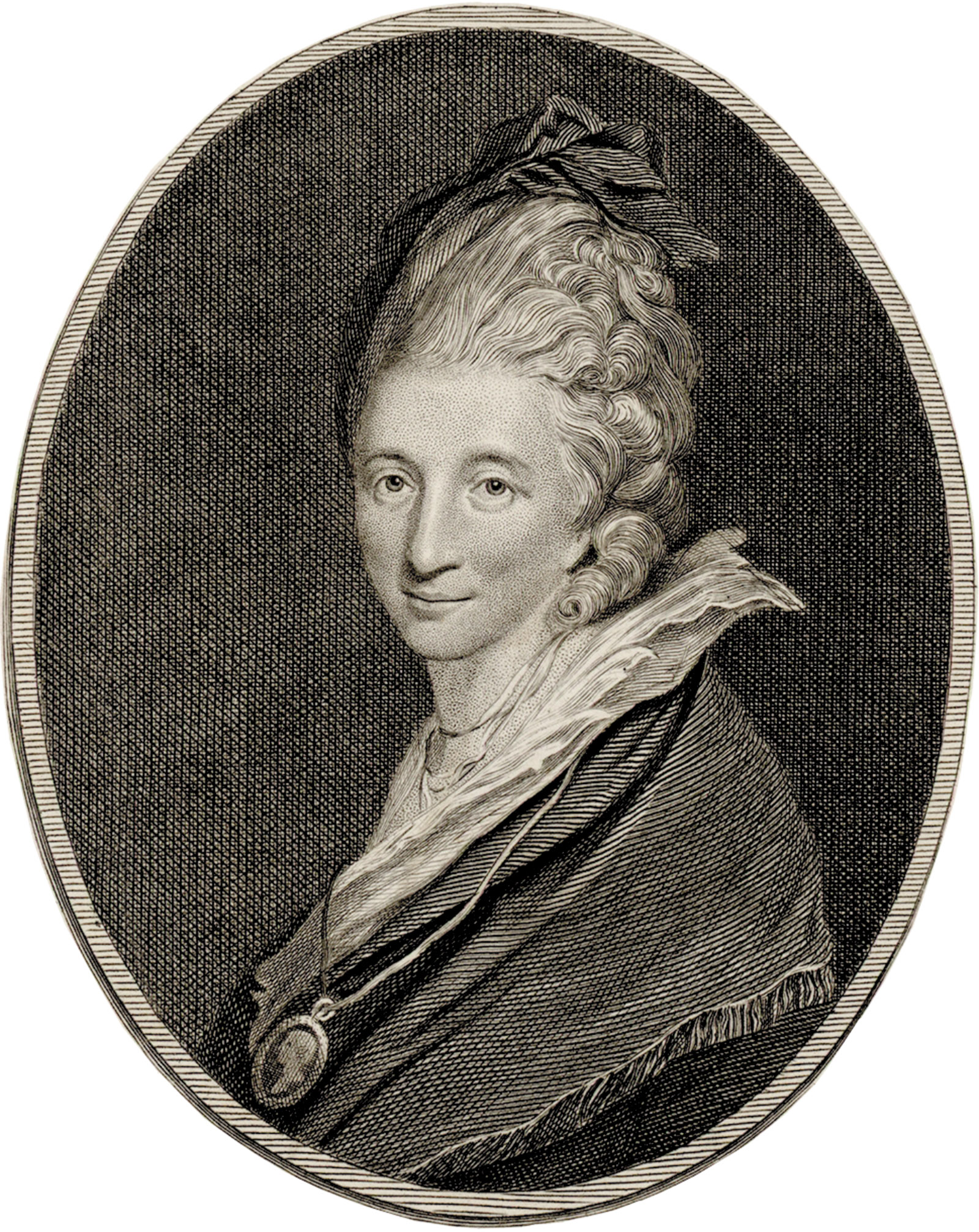 Engraving of Hester Thrale, 1781