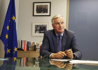 Michel Barnier, the European Commission's chief negotiator on Brexit, Brussels, Belgium, May 2019