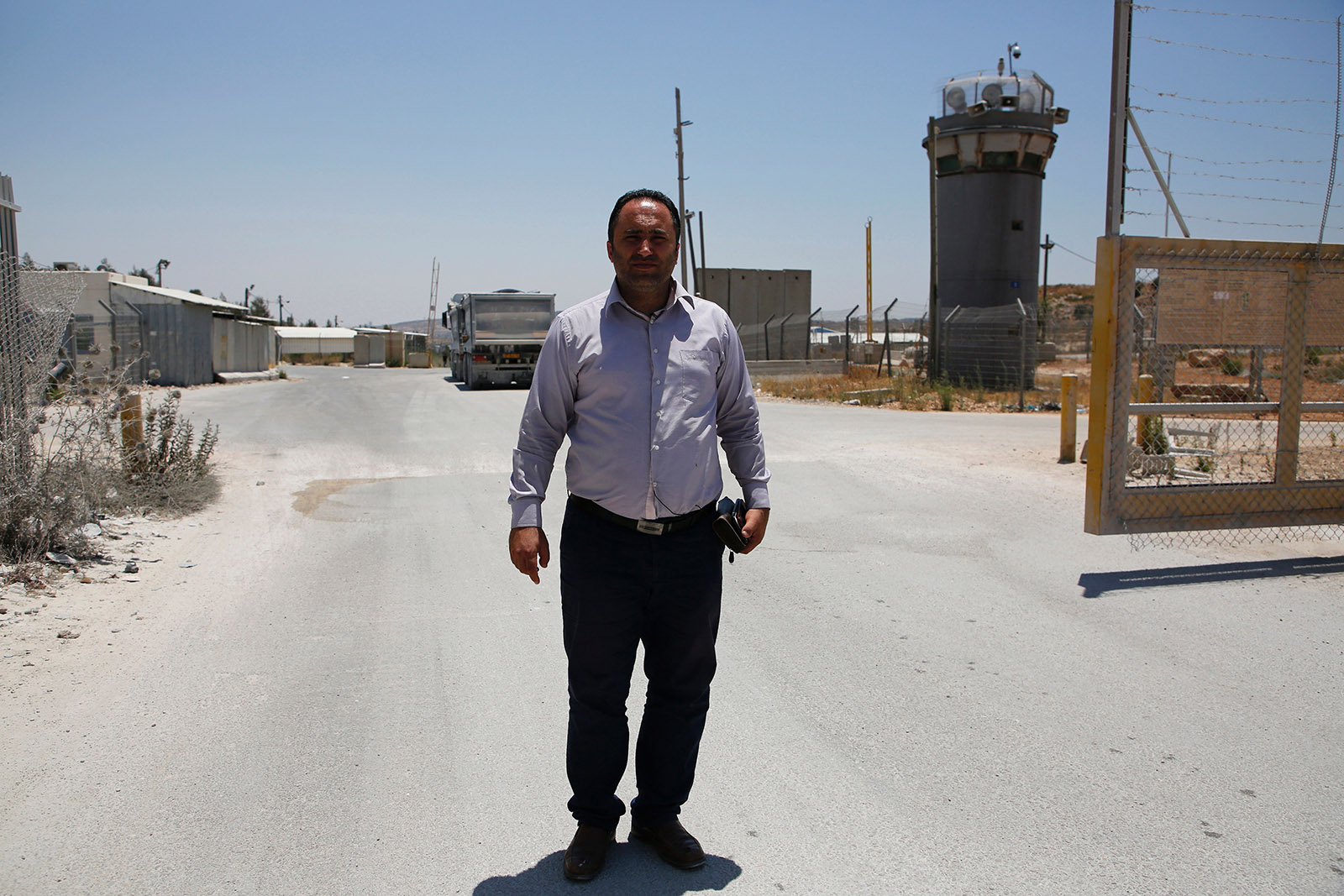 A Palestinian in Israeli Military Court: Issa Amro, the