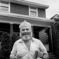 Oliver Sacks, City Island, the Bronx, May 1988