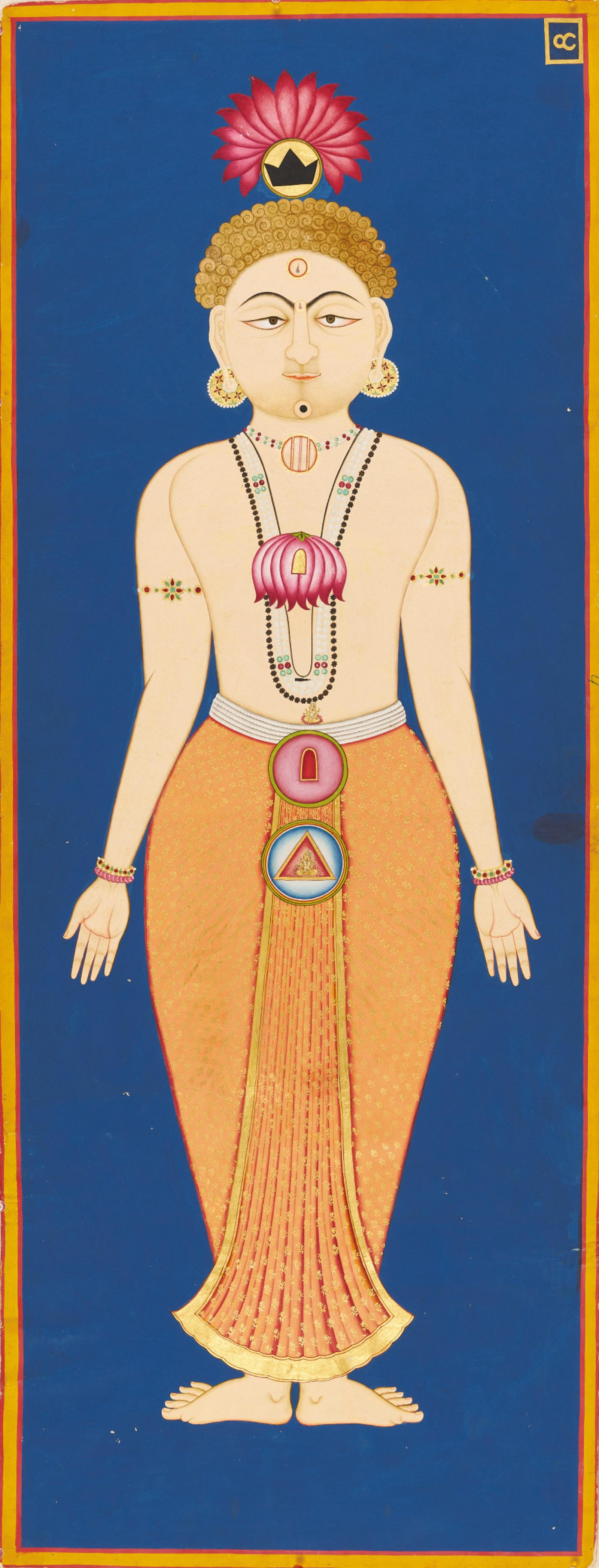 Chakras of the Subtle Body from the Siddha Siddhant Paddhati